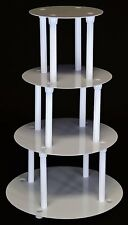 4 TIER CAKE STAND SEPARATOR AND PILLAR SET (STYLE 1101)