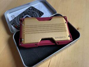 "Dango Wallet - A10 - ""Iron Man"" Inspired Custom Wallet"