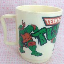 Vintage Teenage Mutant Ninja Turtles TMNT Cup Mug 1989 Peter Pan Inc