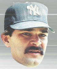 Don Mattingly Heads Up Baseball NY Yankees Topps 1990 #19 Of 24 Suction Cup