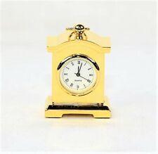 "Mini Mantle 2""  Clock - Gold"