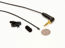 MatchStick Lapel Microphone for digital voice recorders.  Extremely tiny!!!!