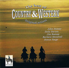 "THE BEST OF COUNTRY & WESTERN "" Original Artistes "" neuf et dans l'em BALLAGE"