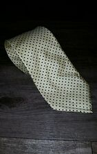 Brooks Brothers Gold/ Yellow Silk Necktie Old Stock With Tag