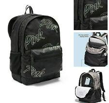 New Victoria's Secret VS PINK Bling Rhinestone Campus Backpack Book Bag Log BP47
