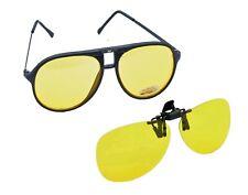 Conducción Gafas & Clip de visión nocturna de la seguridad del conductor * sin brillos o Dazzle Sol