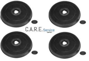 Set 4 filtri carbone attivo per Faber Franke cappa cucina 6093043  1120157238