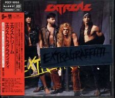 EXTREME Extragraffitti JAPAN Limited Picture CD 1990 W/Obi and Sticker PCCY10155