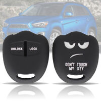 Silicone Car Remote Key Shell Cover For Mitsubishi Lancer Outlander Pajero