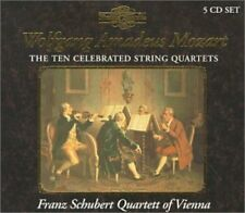 Franz Schubert Quart - 10 Celebrated String Quartets [New CD]