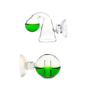 Echtglas CO2 Langzeittest OCOPRO mit u. ohne Indikatorlösung