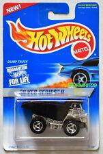 Hot Wheels 1995 Argent Séries II #1/4 Dump Truck Noir