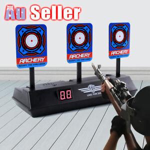 Gel Blaster Gun Target Electronic Auto Reset Scoring Shooting Aimed Toy Gift AU