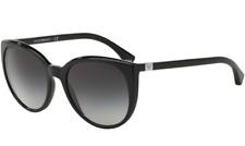 Authentic EMPORIO ARMANI 4043 - 50178G Sunglasses Black/Grey Gadient  *NEW* 55mm