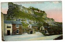 Vintage Postcard Castle Rock Stoney Middleton Derbyshire P6160