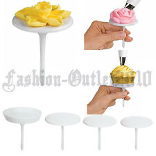 Set Cake Flower Nails Decorating Stand Cupcake Icing Cream Sugarcraft Mould Tool