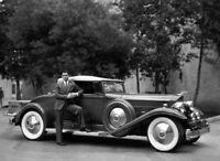 8x10 Print Clark Gable Portrait Pictured with His Automobile #4545