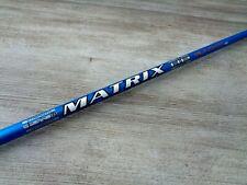 New listing MATRIX RADIX 5 HD Blue Regular Driver Shaft Taylormade Adapter Tip SIM MAX M5 M6