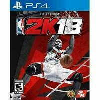 NBA 2K18 Legend Edition Sony PlayStation 4 PS4 * Professional Refurbished **