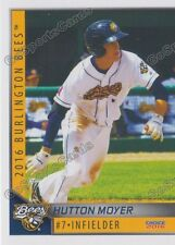 2016 Burlington Bees Hutton Moyer RC Rookie Angels Minor