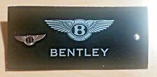 Bentley Pin schwarz emailliert 20x7mm ORIGINAL mit Folder