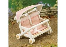 Sylvanian Families Baby Double Push Chair miniature NEW