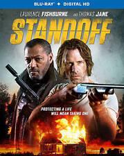 Standoff [Blu-ray + Digital HD] DVD, Laurence Fishburne, Thomas Jane, Ella Balle