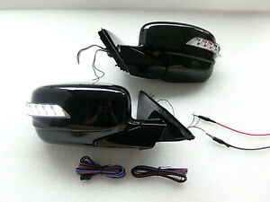Auto Power Folding Mirrors SEQUENTIAL Led light for HONDA ACCORD 08 ~12 8th