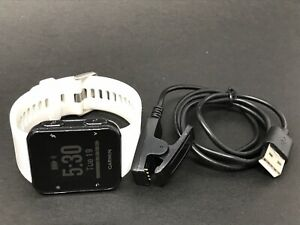 Garmin A02990 Forerunner 35 GPS Running Watch White w/ Charger - Tested