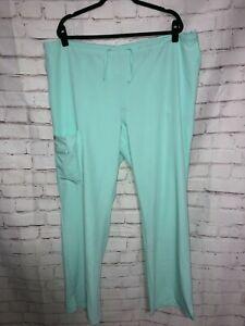 Scrub Pants Bottom, 2X - Jockey -  Teal