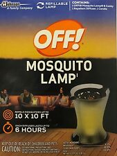 OFF! Mosquito Lamp - Includes Lamp, Diffuser & Candle - Covers 100 Square Feet