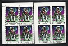 Yemen, 1969, Space, Apollo 11, IMPERFORATED, Blocks of 4, MNH**