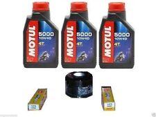 MGM KIT TAGLIANDO COMPLETO YAMAHA T-MAX 500 2001/2007 OLIO MOTUL 5000 FILTRO OLI