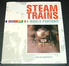 Steam Trains by Colin Garratt (1989, Hardcover)