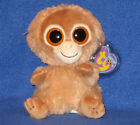 """TY BEANIE BOOS - TANGERINE the 6"""" MONKEY - MINT with MINT TAGS"""