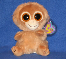 TY BEANIE BOOS BOO'S - TANGERINE the MONKEY - MINT with MINT TAGS
