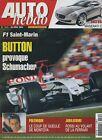 AUTO HEBDO n°1441 du 28 Avril 2004 GP SAN MARIN BMW 545i PEUGEOT 407 V6 MONTOYA