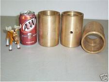 Newbury Van Dorn Brass Bushings 150 Ton Press Qty 3