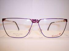Brille/Eyeglasses/Lunettes by CASANOVA Frame Italy 100% Original-Vintage 90'