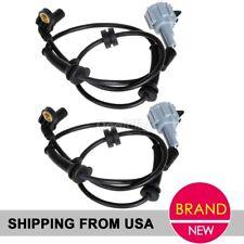 2pcs ABS Wheel Speed Sensor Front For 05-07 Nissan Armada Titan SU12213,ALS621