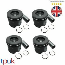 FORD TRANSIT PISTON 2.4 MK6 RWD 2003 - 2006 125PS ON RINGS & PIN PER 4 PISTONS