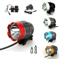 Waterproof 5000Lm CREE XM-L T6 LED Head Front Bike Lamp Bicycle Light HeadLamp