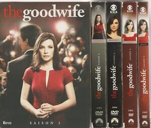 The Good Wife Saisons 1 à 5 Dvd 1 2 3 4 5