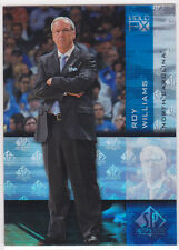 ROY WILLIAMS North Carolina Tarheels Basketball SP FX Authentic HOLO INSERT CARD