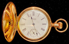 Excellent Running Condition Antique Waltham Pocketwatch Gold-Filled