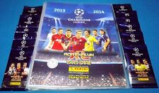 Adrenalyn Champions League CL 2013/14 - Mappe/binder + 20 OVP Booster