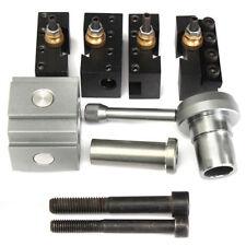 Mini Quick Change Multifix Tool Post & Holder Kit Set For 7 x 10 12 14 Lathes A