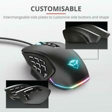 Trust GXT 970 Gaming Mouse, Morfix, Customisable, Optical, 10000 dpi Max, Wired