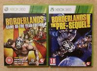 Borderlands + Borderlands The Pre Sequel XBOX 360 / complet
