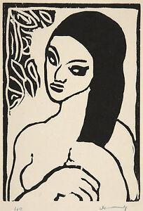 Maurice de Vlaminck Reproduction: Portrait du femme - Fine Art Print